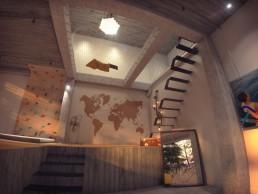 Villa 3D - ambiance intérieur et décoration contemporaine