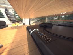 Visuel 3D ultra détaillé du projet de villa