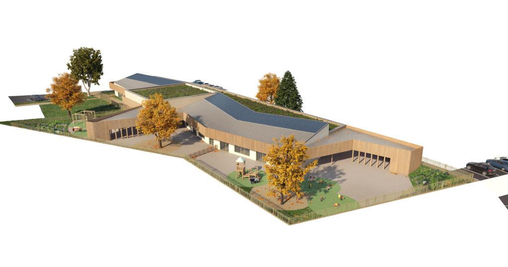 Axonométries 3D et plans de vente - Groupe scolaire