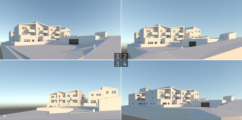 Perspectives 3D - Sélection de points de vue